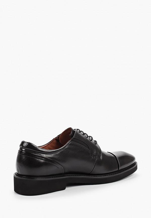 Фото 3 - мужские туфли Guido Grozzi черного цвета