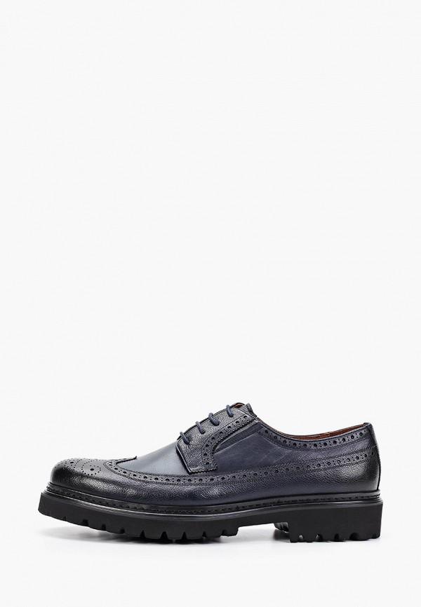 мужские туфли guido grozzi, синие