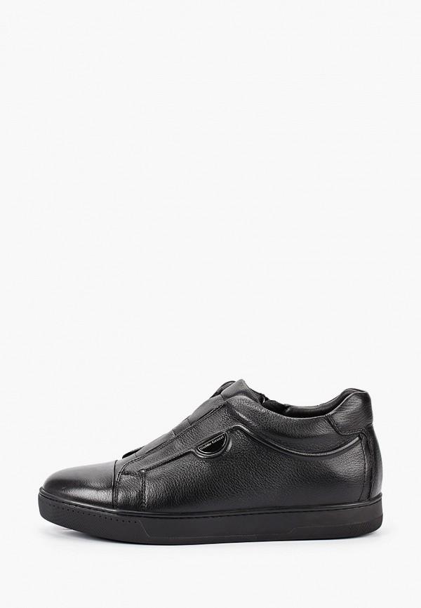 мужские низкие ботинки guido grozzi, черные
