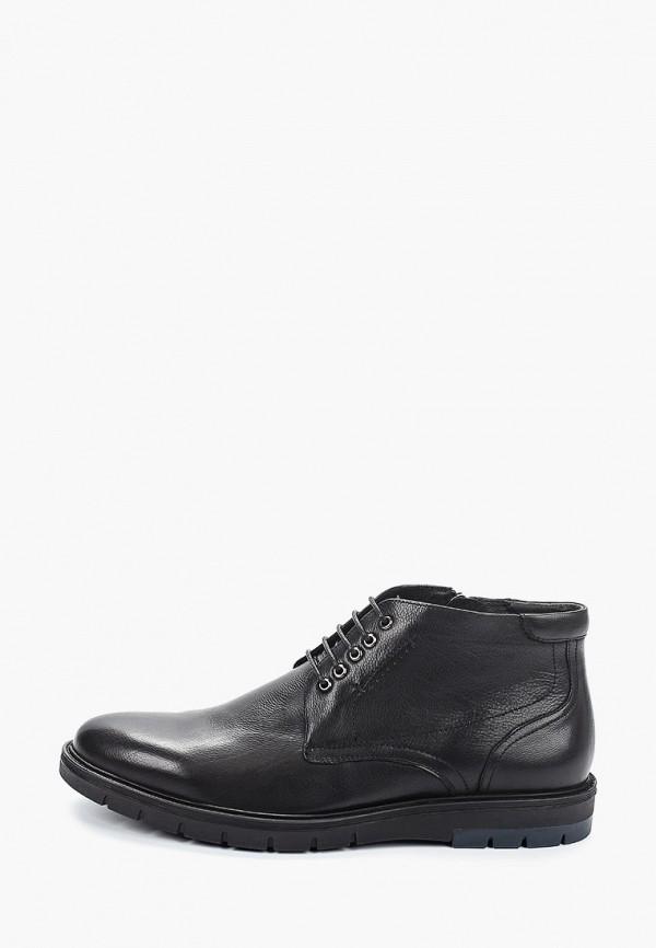 мужские высокие ботинки guido grozzi, черные