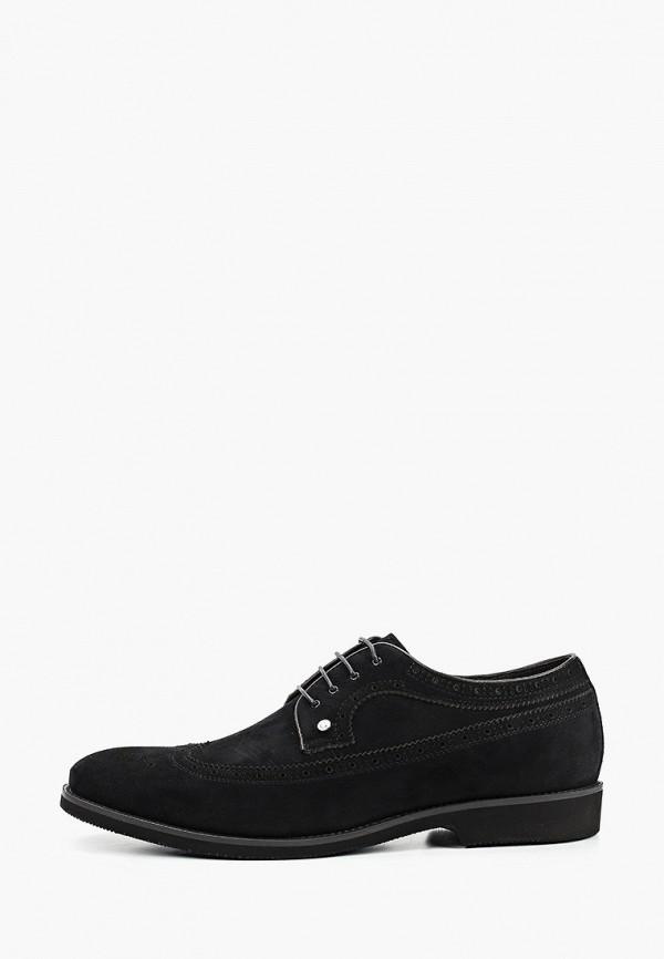мужские туфли-дерби guido grozzi, черные