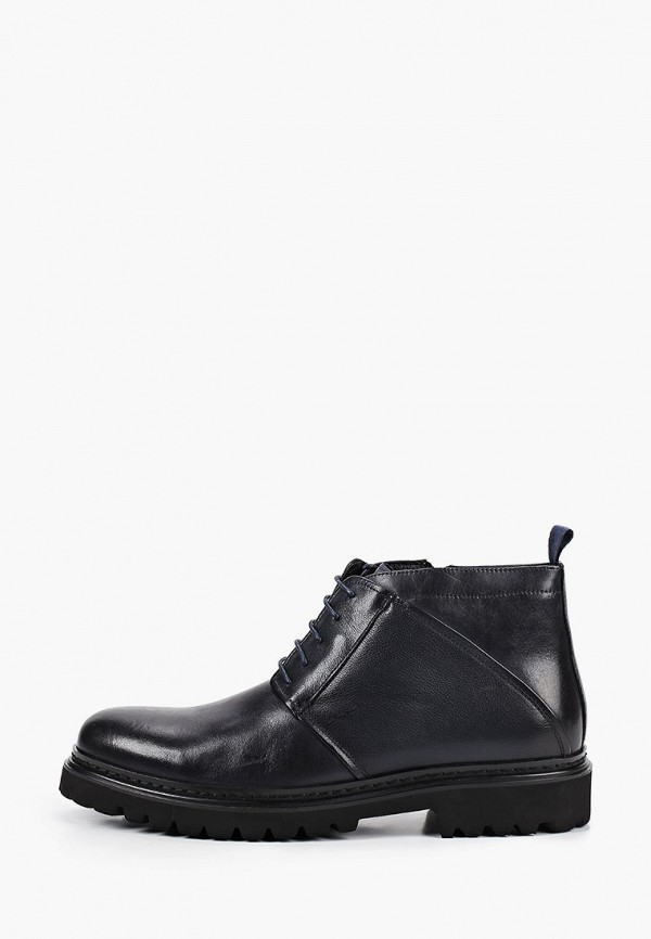 мужские ботинки guido grozzi, синие