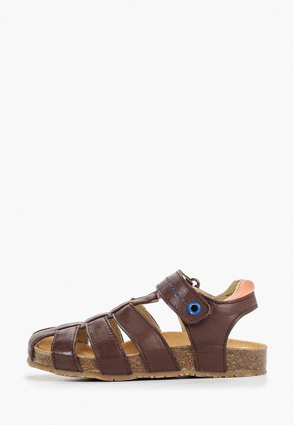сандалии gulliver для мальчика, коричневые