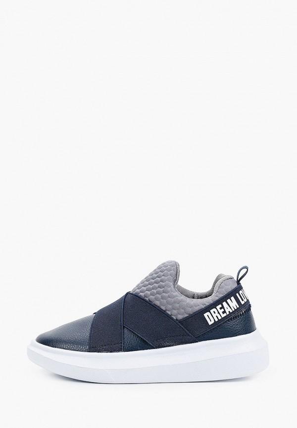 кроссовки gulliver для девочки, синие