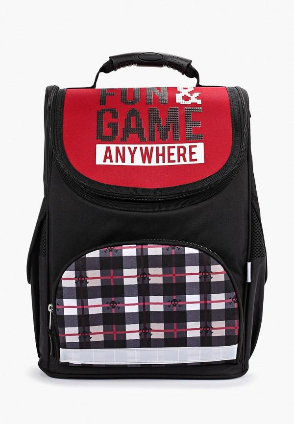 рюкзак gulliver для мальчика, черный