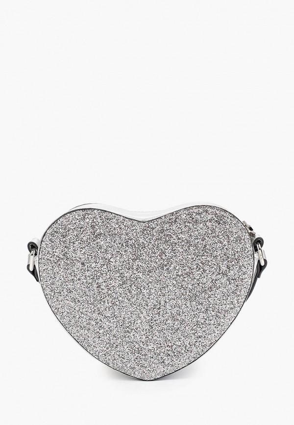 сумка gulliver для девочки, серебряная