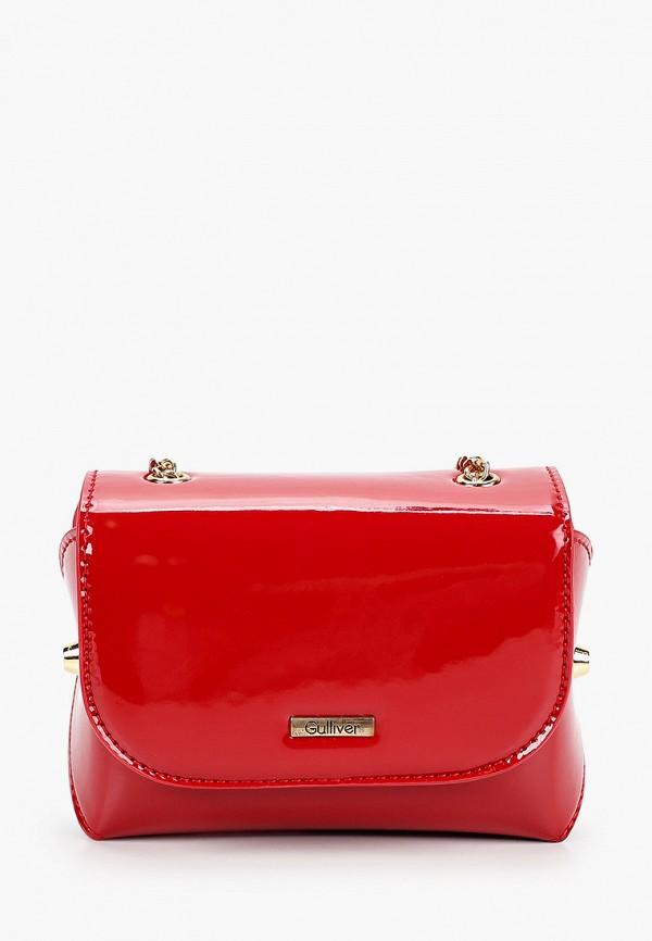 сумка gulliver для девочки, красная