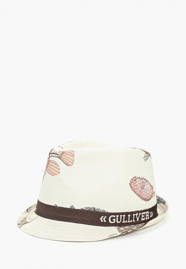 шляпа gulliver для мальчика, бежевая