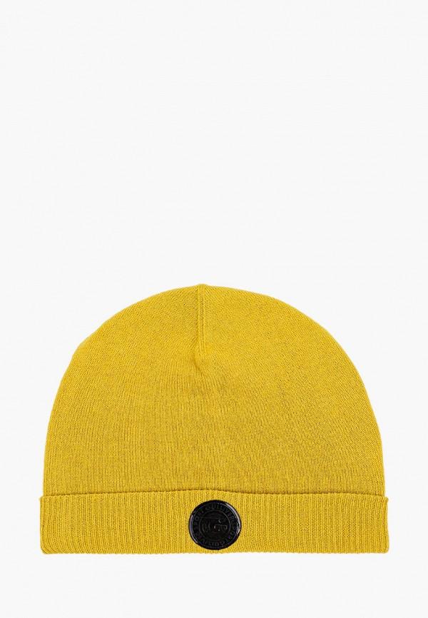 шапка gulliver для мальчика, желтая