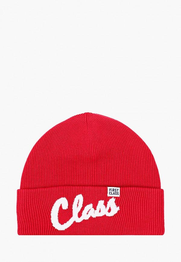 шапка gulliver для мальчика, красная
