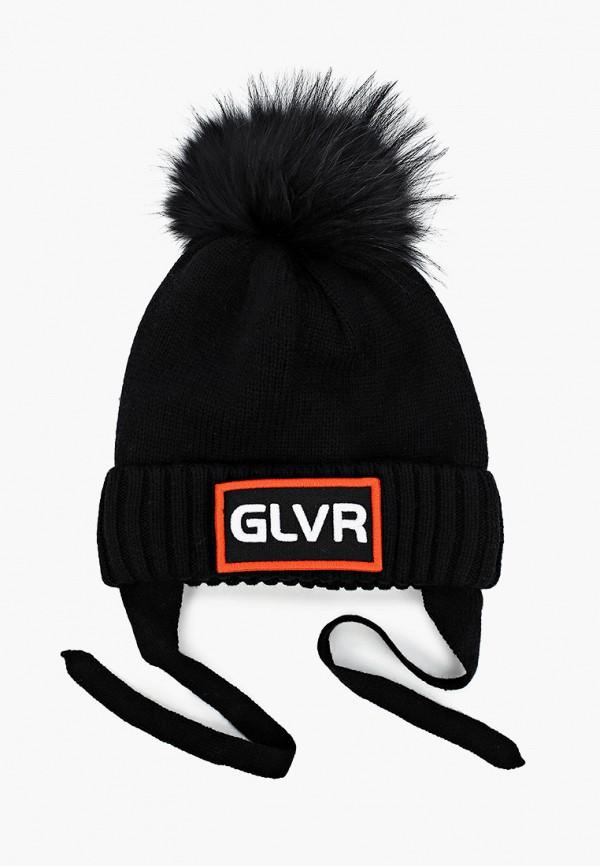 шапка gulliver для мальчика, черная