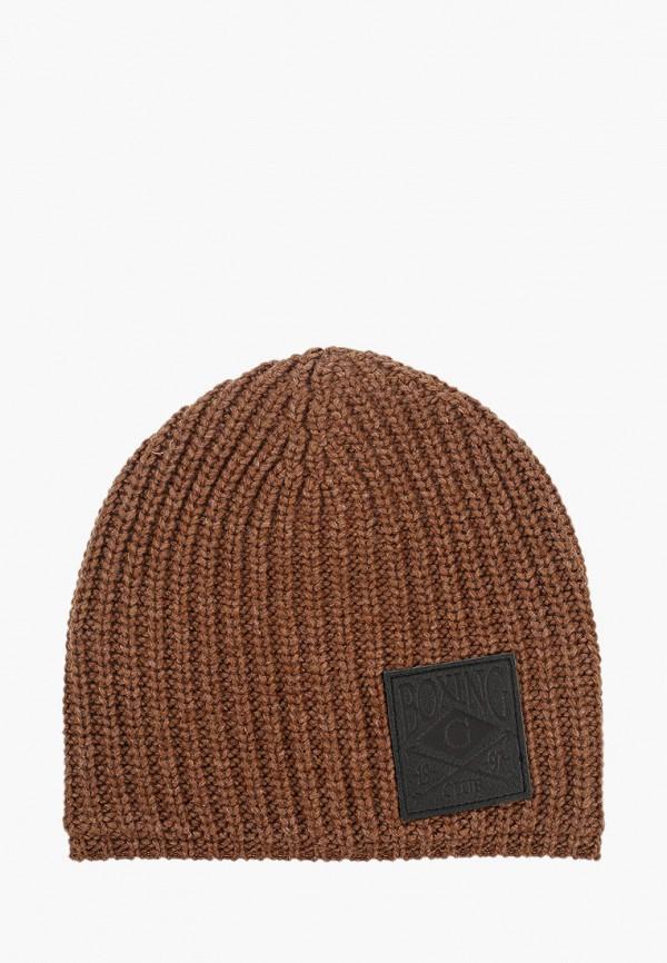 шапка gulliver для мальчика, коричневая