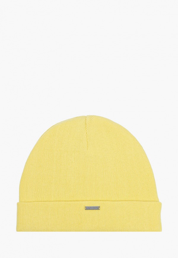 шапка gulliver для девочки, желтая