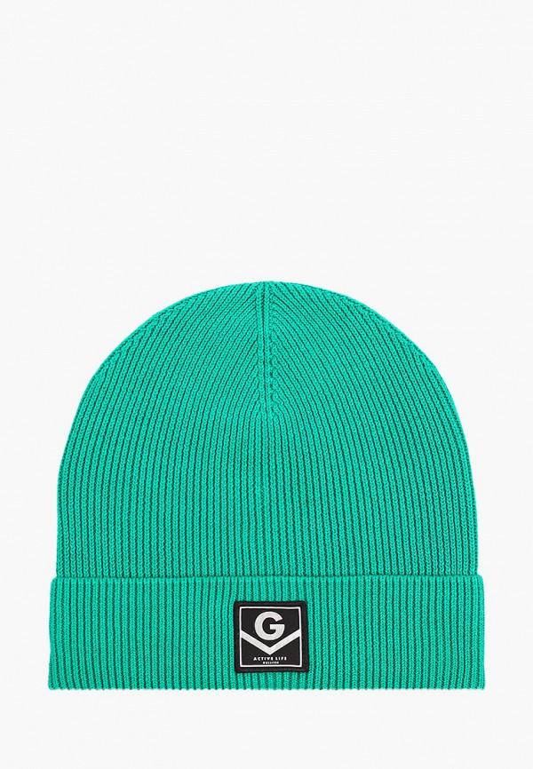 шапка gulliver для девочки, зеленая