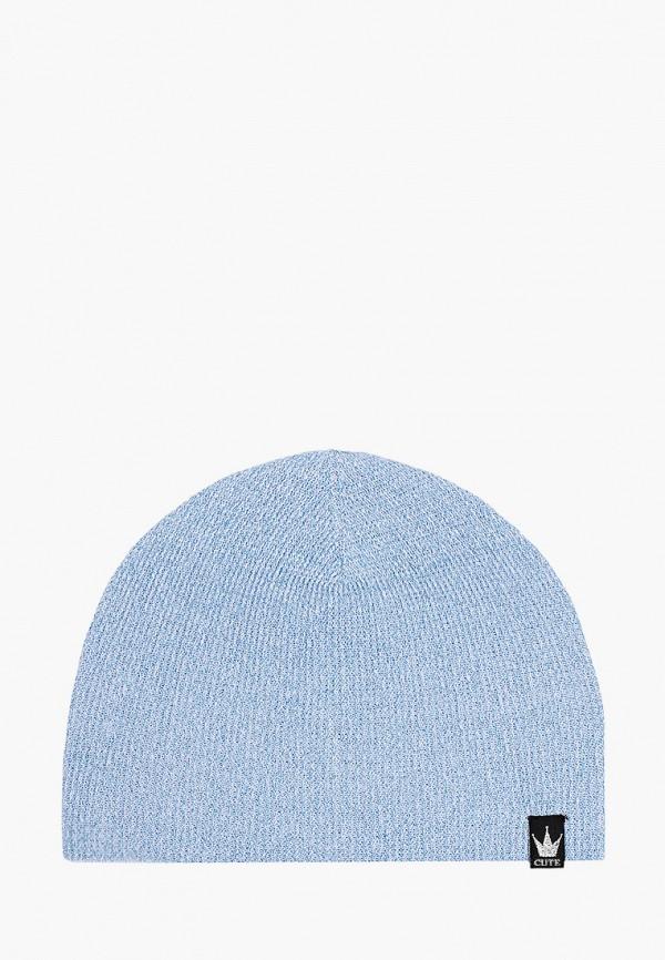 шапка gulliver для девочки, голубая