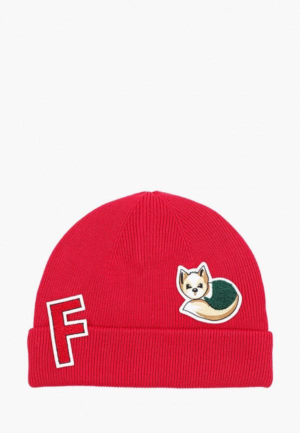 шапка gulliver для девочки, красная