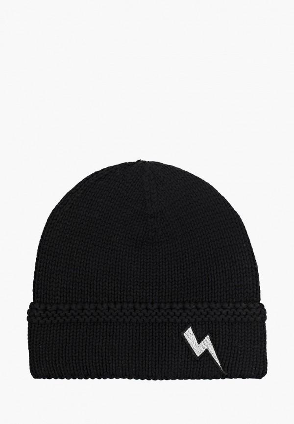 шапка gulliver для девочки, черная