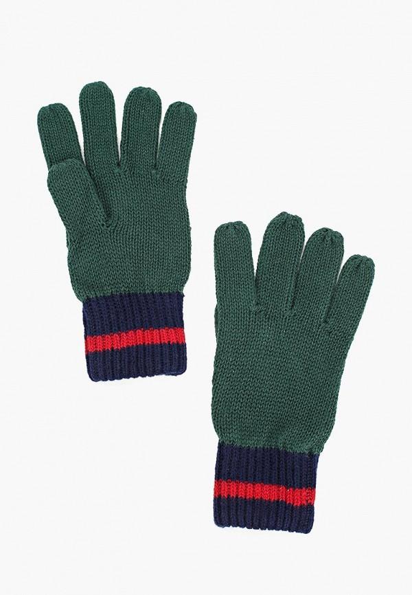 перчатки gulliver для мальчика, зеленые