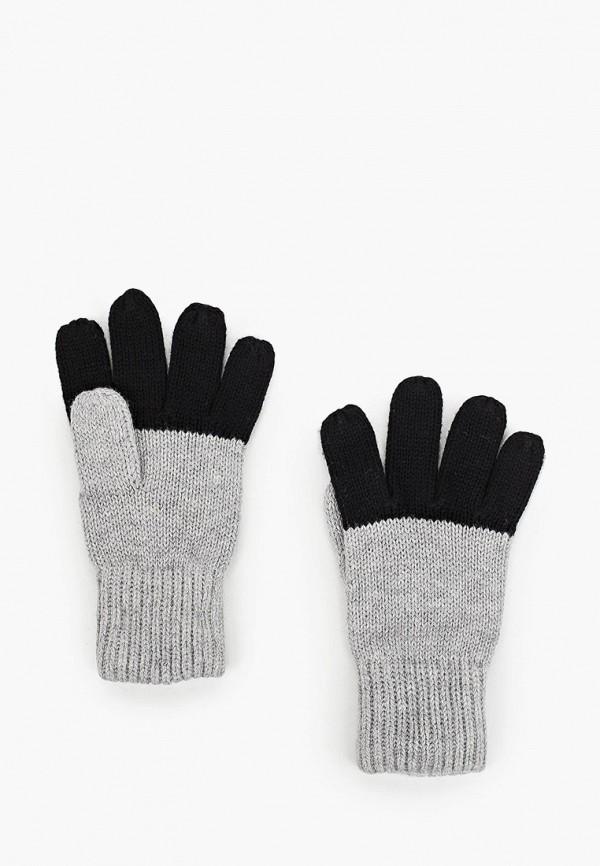 перчатки gulliver для мальчика, серые