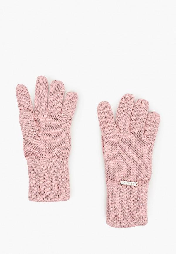 перчатки gulliver для девочки, розовые