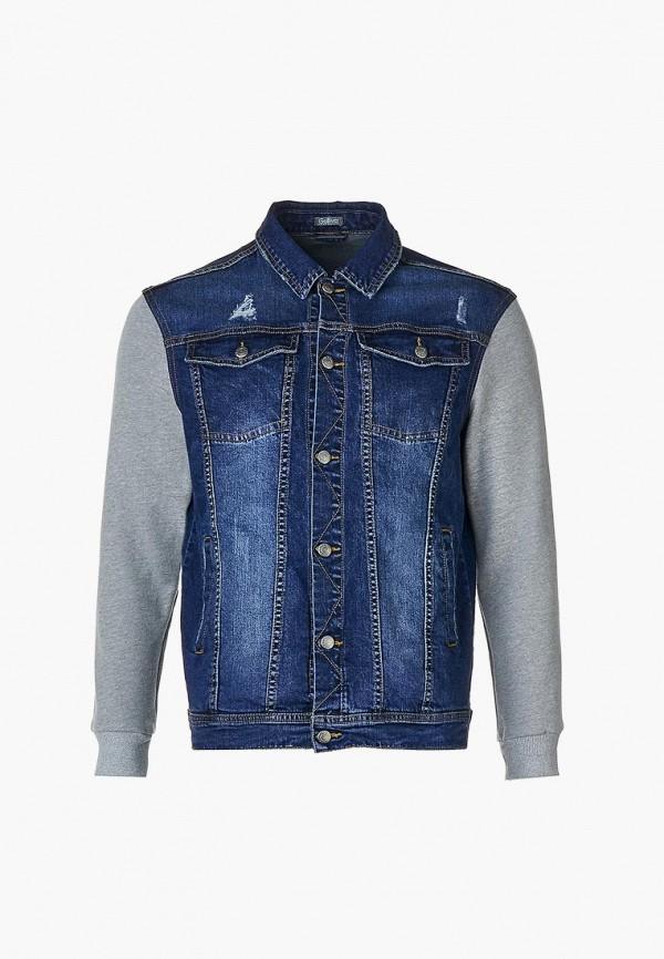 джинсовые куртка gulliver для мальчика, синяя