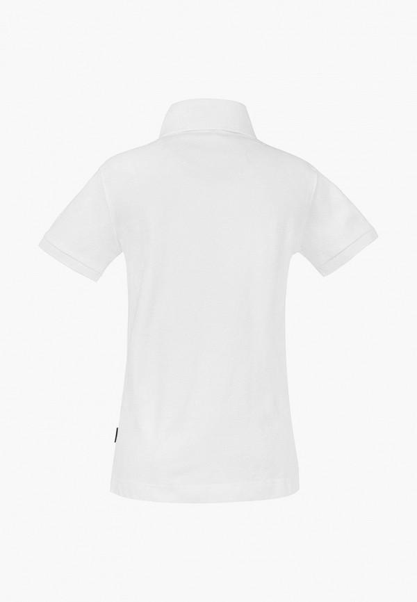 Фото 2 - футболку или поло для мальчика Gulliver белого цвета
