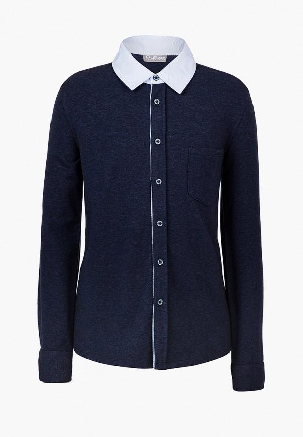 рубашка gulliver для мальчика, синяя