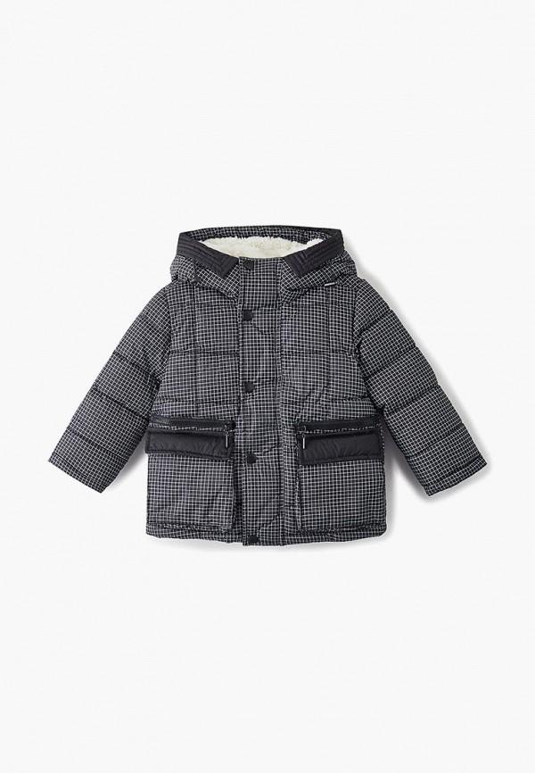 куртка gulliver для мальчика, серая