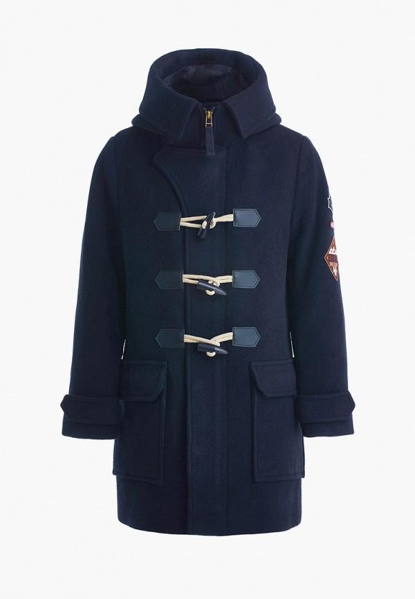 пальто gulliver для мальчика, синее