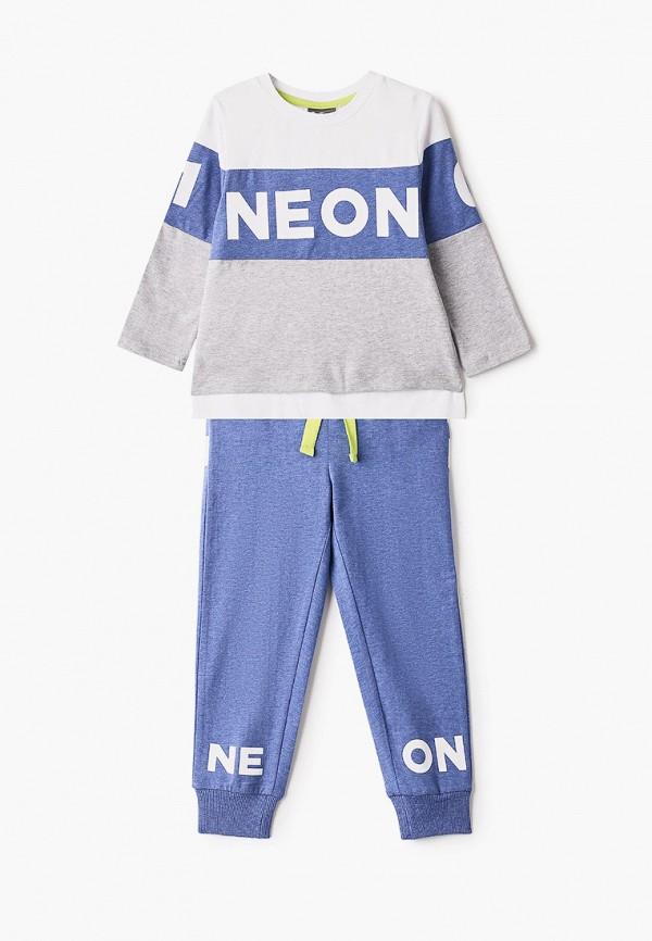 пижама gulliver для мальчика, синяя
