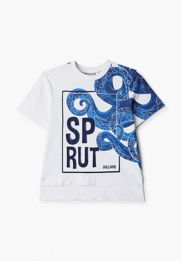 футболка с коротким рукавом gulliver для мальчика, разноцветная