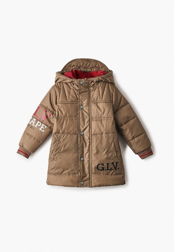 куртка gulliver для мальчика, бежевая