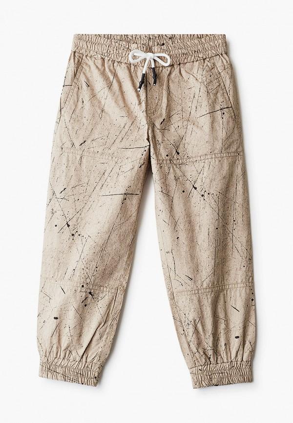 брюки gulliver для мальчика, бежевые
