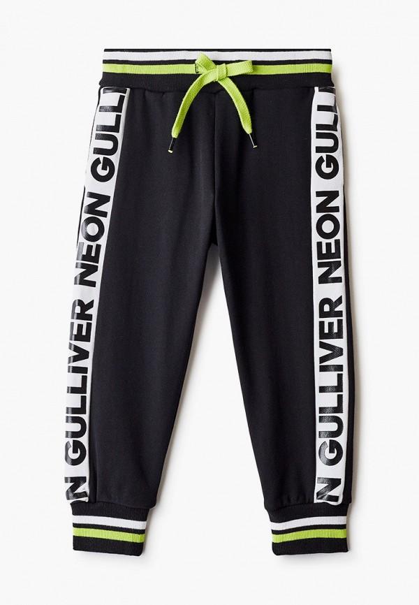спортивные брюки gulliver для мальчика, черные