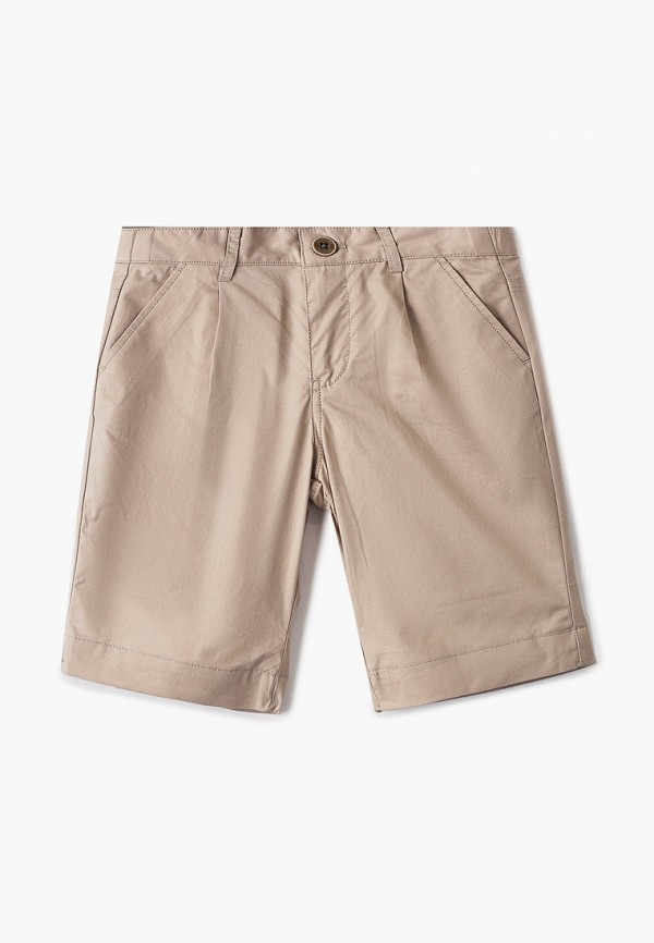шорты gulliver для мальчика, бежевые