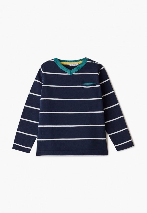 пуловер gulliver для мальчика, синий