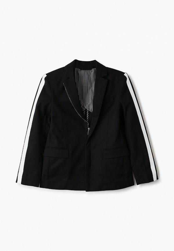 пиджак gulliver для мальчика, черный
