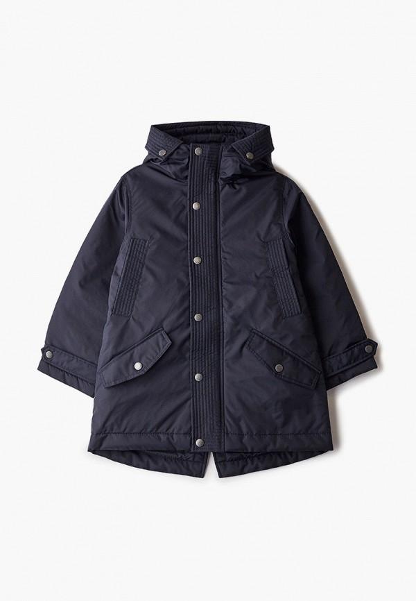 куртка gulliver для мальчика, синяя