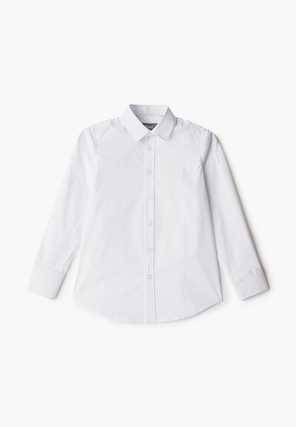 рубашка gulliver для мальчика, белая