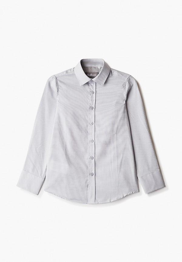 рубашка gulliver для мальчика, серая