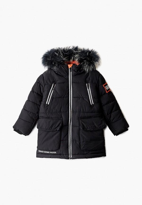 куртка gulliver для мальчика, черная