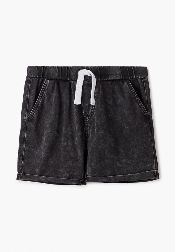 шорты gulliver для мальчика, черные