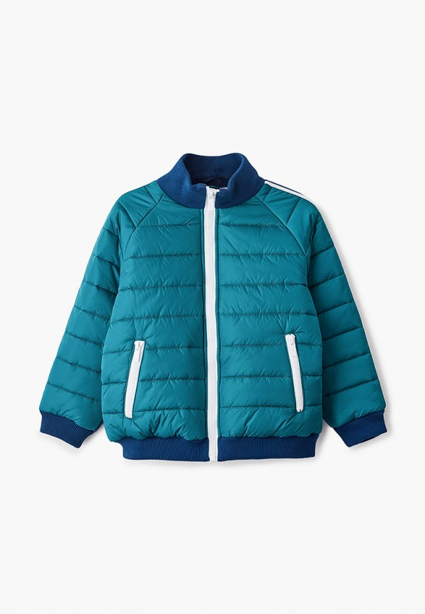 куртка gulliver для мальчика, зеленая