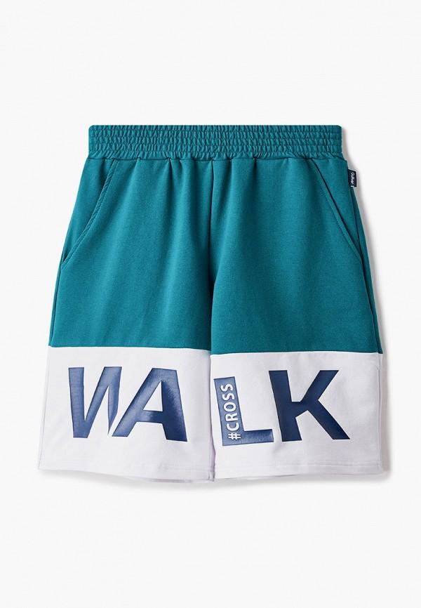 спортивные шорты gulliver для мальчика, бирюзовые