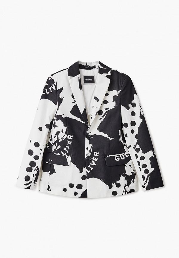 пиджак gulliver для мальчика, разноцветный