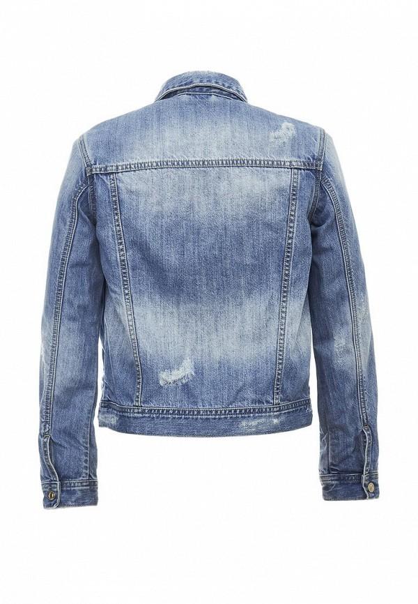 Куртка для девочки джинсовая Gulliver 11810GTC4201 Фото 2