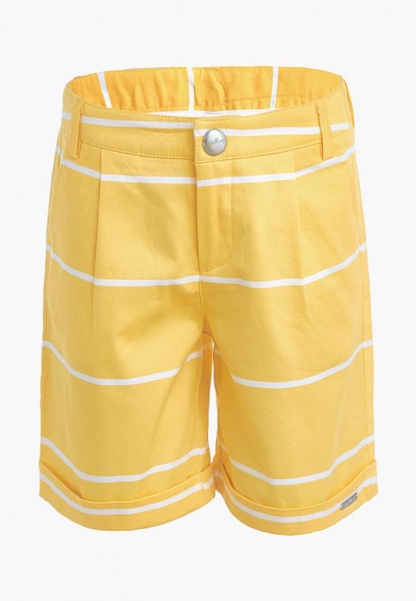 шорты gulliver для девочки, желтые