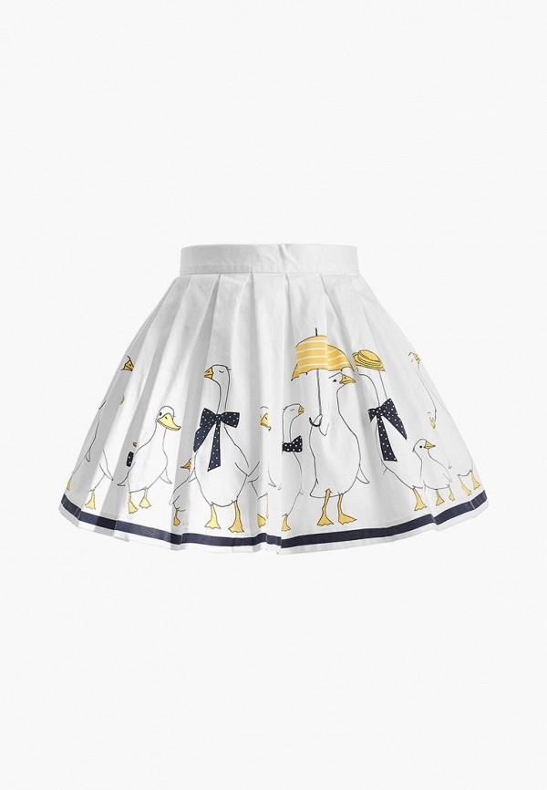 юбка gulliver для девочки, белая