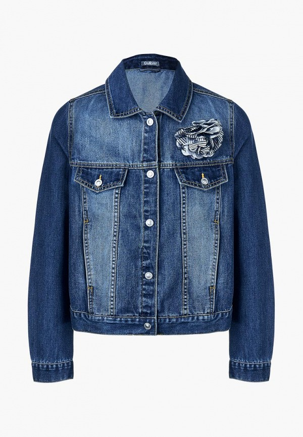 Куртка джинсовая Gulliver Gulliver GU015EGEEXB5 куртка утепленная gulliver gulliver gu015egcrpr4