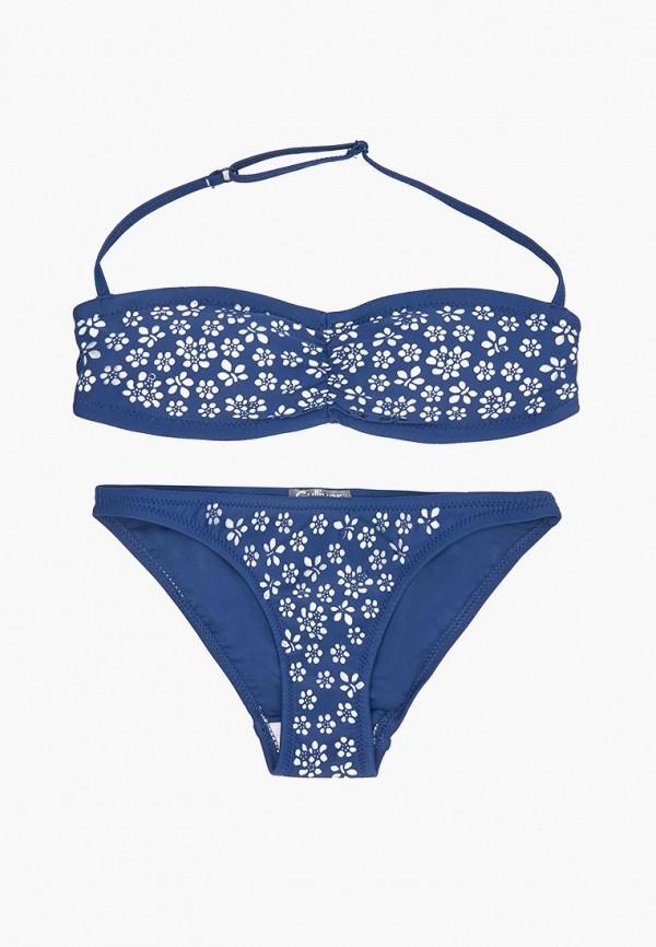 купальник gulliver для девочки, синий